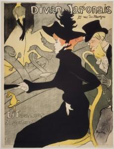 06_Divan Japonais, litografia a colori, manifesto, 1892-1983