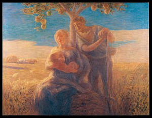 Gaetano Previati (1852-1920); Georgica; olio su tela; 1905; Musei Vaticani