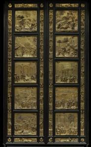Porta del Paradiso, Lorenzo Ghiberti, Museo dell'Opera del Duomo, Coutesy Opera di Santa maria del Fiore, foto Antonio Quattrone