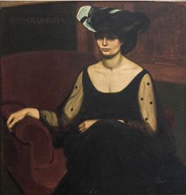27_Ritratto della moglie Isa