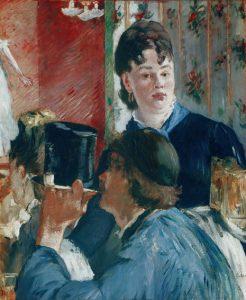 Édouard Manet, La serveuse de bières, 1878-1879,
